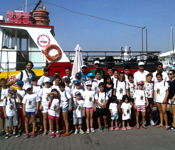 Boat rides and activities for school Málaga