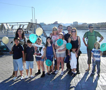 Boat rides and activities for families Málaga